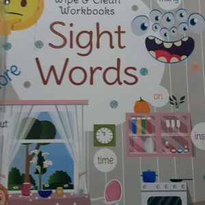Wipe & Clean Workbook- Sight Words