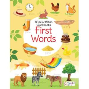 Wipe & Clean Workbook- First Words