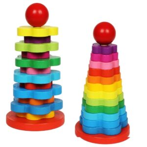 Colorful Rainbow Tower