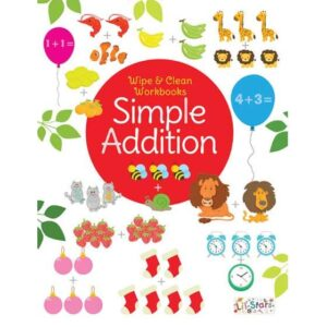 Wipe & Clean Workbook- Simple Addition