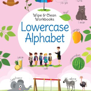 Wipe & Clean Workbook- Lowercase Alphabet
