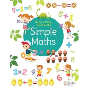 Wipe & Clean Workbook- Simple Maths