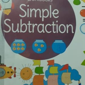 Wipe & Clean Workbook- Simple Subtraction