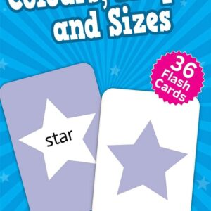 Colours, Shapes & Sizes Flash Cards